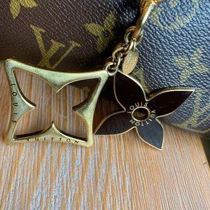 Louis Vuitton key charm for purse